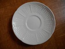 "Wedgwood Willow Weave creamware 5 3/4"" saucer ca. 196?"