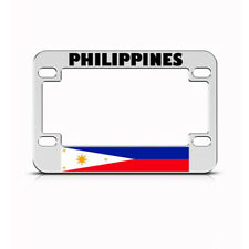 Metal Bike License Plate Frame Philippiness Style B Motorcycle Accessories