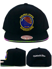 separation shoes 4bc59 42a65 Golden State Warriors New Mitchell   Ness Hologram Black Era Snapback Hat  Cap