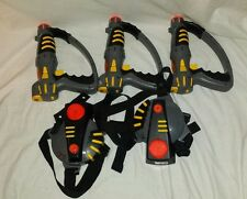 Lot of Toymax 1999 Laser Tag Guns and Targets