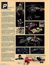 1984 ADVERT Toy Talking Mr T A Team Knight 2000 Rider King Kong Monster Truck