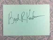 Boyd Kestner - G.I. Jane - Hannibal - Autographed 1989