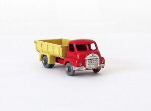 Vintage Lesney Moko Matchbox #40-A Bedford 7 Ton Tipper Gray Wheels 1957