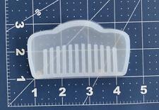 Moldes de Silicona para Resina Peinilla Silicone Mold For Epoxy Resin Hair Comb