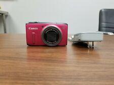 Cannon Power Shot SX260 HS 12.1 MP Digital Camera - Red (SX260HS)