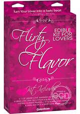 Flirty Flavor Edible Kit For Lovers Turn Your Love Into A Tasty Treat! Romance