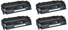 4x Toner Compatible with HP CE505X LaserJet P2055 6.500 Pages