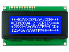 5V Blue 2004 20x4 Character LCD Display Module w/Tutorial,HD44780 Controller
