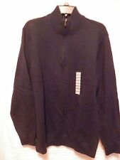 NWT Sun River Clothing Co. Men's 1/4 Zip Sweater/ Size XL
