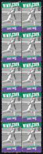 Sidney Wood 1931 Mens Wimbledon Tennis Champion Strip Of 10 Mint Stamps