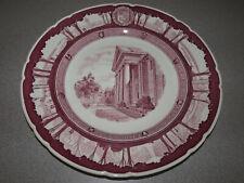 Wedgwood - Cornell University Mulberry Plate 1933 - Goldwin Smith Hall