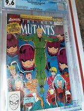 New Mutants Annual #6  CGC 9.6 1990 1st app Shatterstar Rob liefield art!
