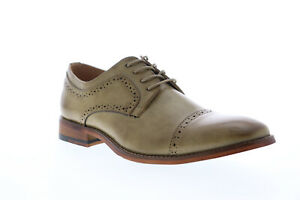 Unlisted by Kenneth Cole Cheer Lace Up Mens Brown Cap Toe Oxfords Shoes 8