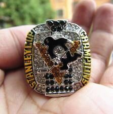 2017 Pittsburgh Penguins Stanley Cup Team Ring Souvenirs Fan Men Gift