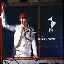 PATRICK WOLF - Accident & Emergency - CD SINGLE PROMO DIGIPACK MONOTITRE 2007