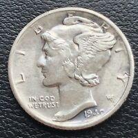 1940 S Mercury Dime 10c High Grade BU #31331