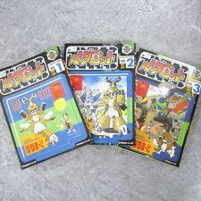 MEDAROT Comic Complete Set 1 - 3 HORUMARIN Japan Book KO*