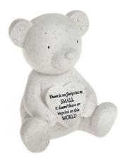 Denkmal Grab Teddybär & Herz Baby Kind Grab Denkmal Erinnerung Geschenk