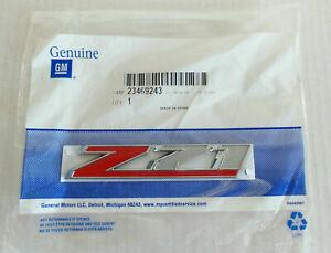 OEM NEW Z71 Emblem Badge Nameplate 2015-2020 Cadillac Chevrolet GMC 23469243