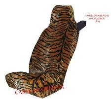 Smart ForTwo - Tiger Faux Fur Car Seat Covers- 2 x Fronts
