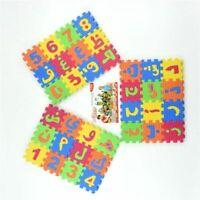 Foam Puzzle 36Pcs Arabic Alphabet Puzzles Kids Educational Toy Baby Number Mat