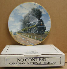 """Christian Bell Collector Plate """"No Contest"""" w/certificate of authenticity #8214"""