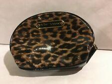 Betsey Johnson  Animal Leopard Print  Clutch/Cosmetic Travel Bag