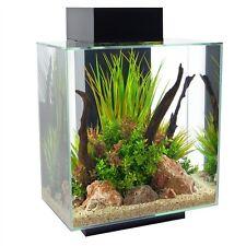 Fluval Edge Fish Tank Tropical Aquarium LEDs 23L - 46L Black - White - Pewter
