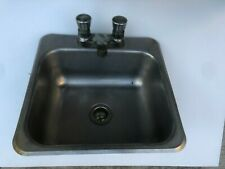 Stainless Steel Drop-In Hand Sink With Faucet Commercial Kitchen Restaurant