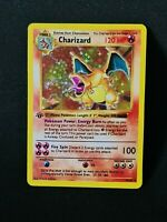 Proxy Charizard Glurak Pokemon Card with Holoeffect