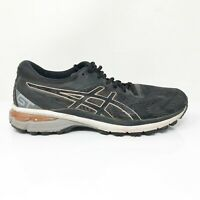 Asics Womens GT 2000 8 1012A591 Black Running Shoes Lace Up Low Top Size 9