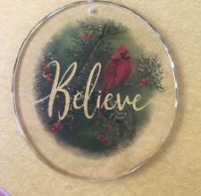 Believe-Cardinal Suncatcher by Catherine McClung for Wild Wings