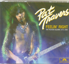 4x CD-Pat Travers-Feelin 'right-The album 1975-1984 - #a2829