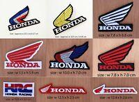 Honda Iron On Patch Sew Embroidered Sponsor Moto GP Racing Motorcycle Bike Logo