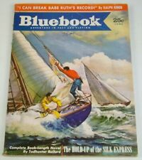 Bluebook Magazine: Adventure in Fact and Fiction Vol. 95 #2 June 1953 babe ruth