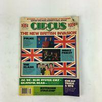 May 31,1981 Circus Magazine The New British Invasion Police Judas Priest