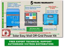 Victron Multiplus Solar Easy Wall Off Grid Kit 48V DC to 3000VA 230V 250V MPPT