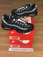 New Nike Air Max 95 Black Smoke Grey Men's Size 9-12.5 Sneakers CT1805-001