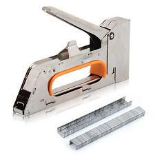 solid 468 mm steel staple gun tacker upholstery stapler with staples