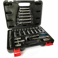 Harley Davidson 44 Piece AF Imperial Socket Set 3/8 Drive Wrench Ratchet