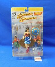 Wonder Woman Action Figure JSA Justice Society DC Direct 2000 New on Card