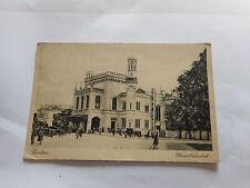 Echtfoto aus den ehemaligen deutschen Gebieten für Architektur/Bauwerk und Eisenbahn & Bahnhof