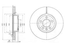 Delphi Delantero 2x Discos de Freno BG3719-venta de liquidación
