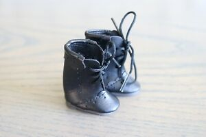 "Black Boots for 10"" Boneka doll~Free Ship"