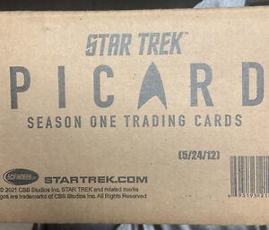 Star Trek Picard Season 1 - Factory Sealed 12 Box CASE w/ 24 Autographs  One