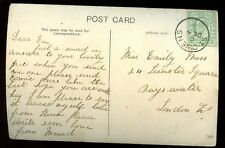 Îles anglo-normandes Jersey 1910? ppc fine ST Owens postmark annuler
