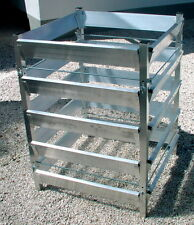 Alu Aluminium Komposter 75 x 75 x 100 Kompostbehälter Gartenkomposter
