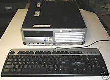 HP/ dlc5100 SFF  P4 3.2 HT SYSTEM BASE UNIT NO HARD DRIVE GOOD REFURBISHED