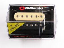 DiMarzio F-spaced Dominion Neck Humbucker Black/Creme W/Chrome Poles DP 244