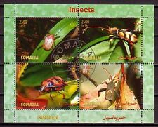 Insect Somalia M/S of 4 stamps 2004